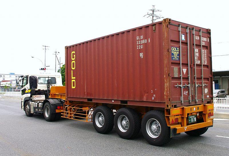 800px-20ft海上コンテナ用トレーラー01
